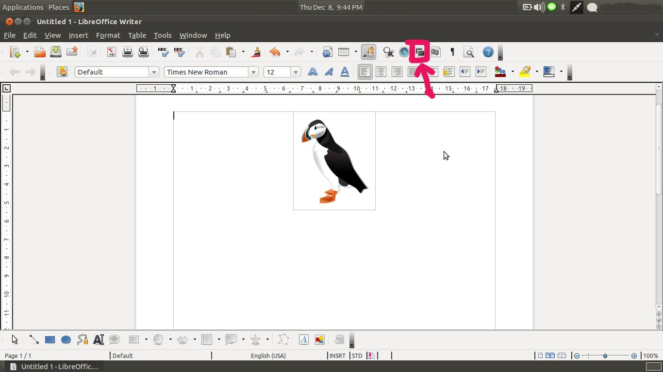 How To Insert Clipart In Libreoffice